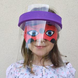 4 Visières de Protection Enfant – Face Protect